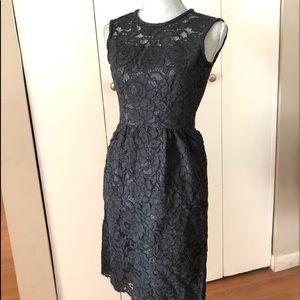 NWT.   KATE SPADE BLACK LACE DRESS